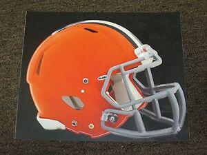 "CLEVELAND BROWNS HELMET NFL Fathead Wall Graphics 11"" x 9""  (Poster/Sticker)"