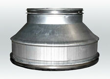 Riduttore riduzione metallo 315-250mm aspiratore condotta adattatore ventola g