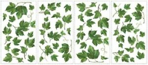 COUNTRY EVERGREEN IVY wall stickers 38 decals room decor leaves kitchen vines
