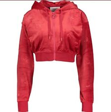 Red juicy Couture Sport Embossed JC Hoodie / Tracksuit Top