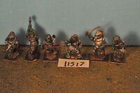 lizard men 6 metal knights citadel  warhammer sigmar (11517)