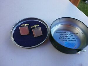 Ted Baker Cuff Links Brand New In Tin.
