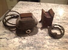 Two Antique Electric Motor Armature Growler Tester. Electro G5.