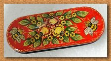 New hard case for glasses. Spectacles.Hand-painted.Russian souvenir. # w-44