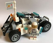 LEGO parts only - SPACE CRAWLER + SPACEMAN - my design all as in the picture