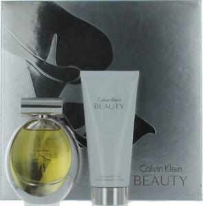 Beauty by Calvin Klein for Women Set - EDP Perfume Spray 1.7oz + BL 3.4oz - SW