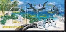 VS2 SAMOA SOUVENIR SHEET - SEABIRDS - MINT, OG, NH, VF