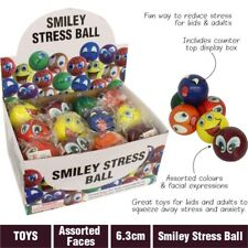 Funny Smile Anti Stress Ball - Relaxable Squeeze Ball Stress Pain Relief