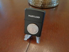 MARYLAND STATE QUARTER ZIPPO LIGHTER LIMITED EDITION MINT IN BOX SET BREAK