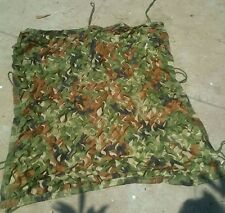 Military Camouflage Camo Neting Net Woodlands Leaves 1X1M for hunting Camping