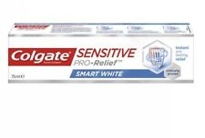 12x Colgate Sensitive Pro-Relief Toothpaste SMART WHITE 75ml