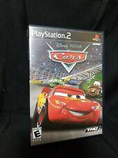 Disney Pixar Cars ~ PlayStation 2 PS2 Black Label ~ Complete TESTED