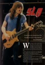 AC/DC Angus Young UK 'Guitarist' Interview Clipping ATTITUDE