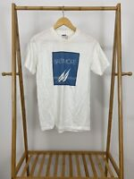 VTG 80s My Shirt Is Made In The USA Baltimore Maryland White T-Shirt Size L