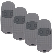 4 x Gate Garage Remote Key Fob Transmitter suitable for CAME TOP432NA / TOP432EE