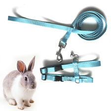 Rabbit Traction Rope Pet Tuna Tractor Bunny Rabbit Safty Belt Harness Leashes.