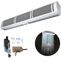 1500mm Air Curtain Air Conditioner Curtain 3 Adjustable Speeds Wall Mounted