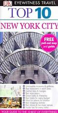 NEW YORK CITY USA - DK EYEWITNESS TOP 10 TRAVEL GUIDES - VIRTUALLY BRAND NEW
