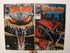 1992 Spawn #4 & 5 Todd McFarlane Art Image Comics Vf/Nm