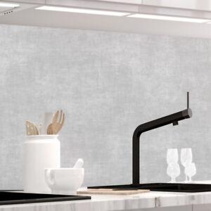 Küchenrückwand - GRAU STRICH - selbstklebend, PRO Version, PVC 0.2mm