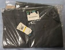 "Cubavera Mens Linen Blend Drawstring Pants NWT Medium 32"" Inseam Grey Green"