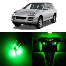 21 x Error Free Green LED Interior Light For 2003 - 2010 Porsche Cayenne + TOOL