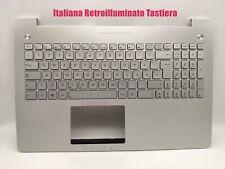 Italiana Poggiapolsi Tastiera per Asus N550J/N550JA/N550JK/N550JV/N550JX/N550LF