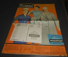 versandhaus katalog heft alt oberpollinger münchen kleidung damen  mode 1957