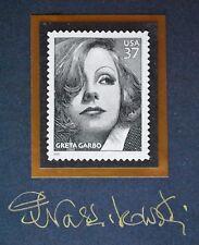 USA - Greta Garbo (2005) - Piotr Naszarkowski - GOLD engraver signature