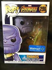 Thanos Walmart Exclusive Funko Pop! Marvel Avengers Infinity War #296