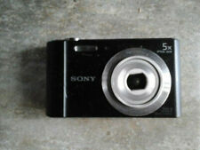 AS-IS Sony Cyber-shot DSC-W800 20.1MP Compact Camera - Black CAMERA ONLY PARTS