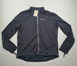 NEW Pearl Izumi Men's PRO Thermal Long Sleeve Cycling Jersey Black Size 2XL $165