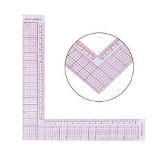 Km _ Multifunktionale Lineal DIY Plastik Nähen Square Curve Maß Zeichenwerkzeug