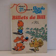 album n°21 des gags de BOULE ET BILL par Roba éditions DUPUIS 1987