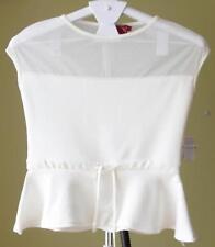 Boohoo Polyester Peplum Tops for Women
