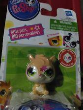 Littlest Pet Shop Hamster Figure [Brown]