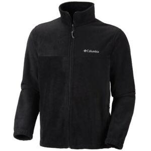 Columbia Men's Granite Mountain Fleece Jacket in Black, Size 1X