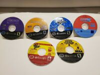 Lot of 6 Gamecube Games - Sonic  Adventure DX, 2 Battle, Scooby-Doo, Monkey Ball