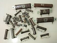 Lot Of 30 Ohmite Tru Ohm Power Resistor Wire Wound Ceramic Hollow Core