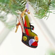 Disney Snow White Evil Queen Runway Shoe Christmas Ornament New