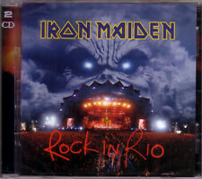 2 CD (NEU!) . IRON MAIDEN - Rock in Rio (live 2001 dig.rem. mkmbh