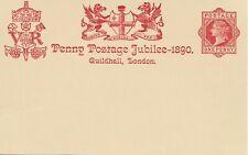GB 1890 Victoria JUBILEE 1d Postal Stationery Card VERY FINE MINT Ref:D200