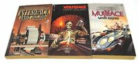 The Interface Trilogy, Complete Set, by Mark Adlard, Good Condition Voteface