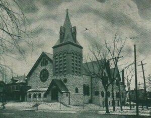 Greystone Church ELIZABETH NEW JERSEY NJ Union County Benjamin Franklin stamp US