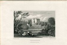 Escocia. Craigstone, Aberdeeshire grabado por S. Lacey  1818-1829