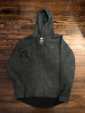 Mens Nike Tech Fleece Full-Zip Hoodie Men�€™s Sz L Midnight Black 863814 038