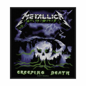 METALLICA CREEPING DEATH OFFICIAL LICENSED SEW ON PATCH THRASH METAL BADGE NEW
