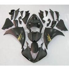 Matte Black ABS Plastic Fairing Bodywork For Yamaha YZF R1 YZF-R1 2009-2011 2010