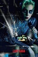 LADY GAGA ~ BLUE SEQUINS LIVE ~ 22x34 MUSIC POSTER NEW/ROLLED!