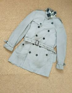 Burberry Brit Belted Trench Coat Size Medium